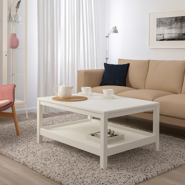 HAVSTA Sohvapöytä, valkoinen, 100x75 cm