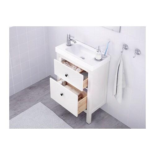 HEMNES Allaskaluste 2 laatikkoa valkoinen, 60x30x83 cm IKEA