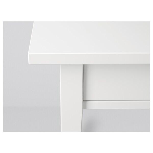 HEMNES sivupöytä valkoinen 46 cm 35 cm 70 cm