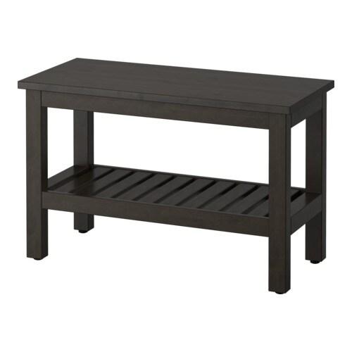 HEMNES Penkki  mustanruskeaksi petsattu  IKEA