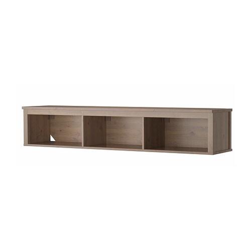 HEMNES Seinähylly  harmaanruskea  IKEA
