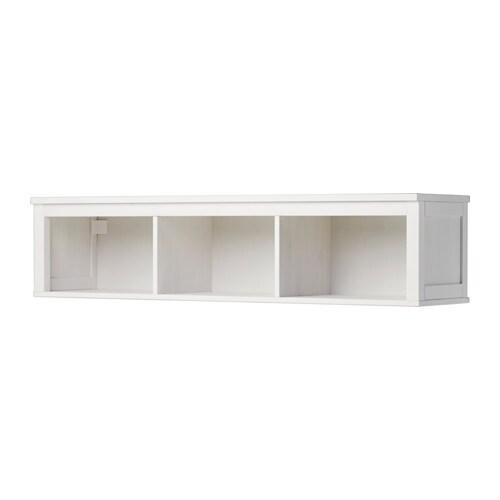 HEMNES Seinähylly - valkoiseksi petsattu - IKEA