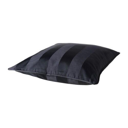 HENRIKA Tyynynpäällinen, musta Pituus: 50 cm Leveys: 50 cm