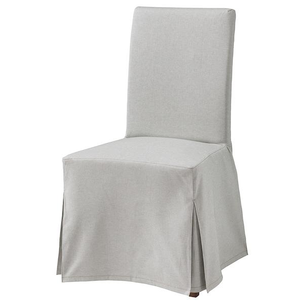 HENRIKSDAL tuoli+pitkä päällinen ruskea/Orrsta vaaleanharmaa 110 kg 51 cm 58 cm 97 cm 51 cm 42 cm 47 cm