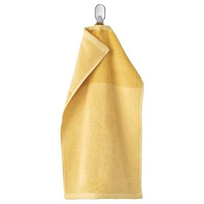 HIMLEÅN vieraspyyhe keltainen/meleerattu 500 g/m² 50 cm 30 cm 0.15 m²