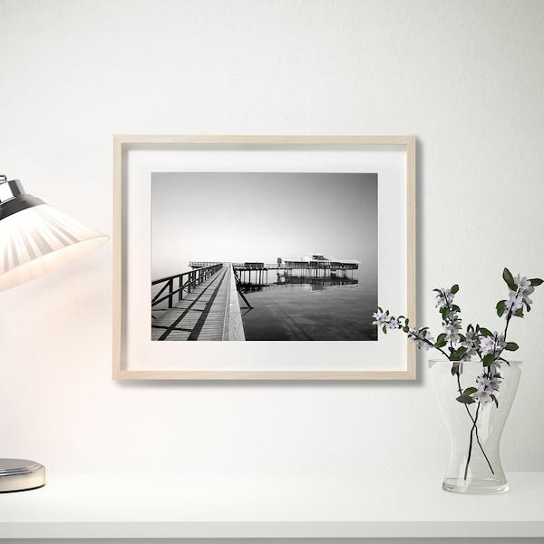 HOVSTA Kehys ja kehyskartonki, koivukuvio, 40x50 cm