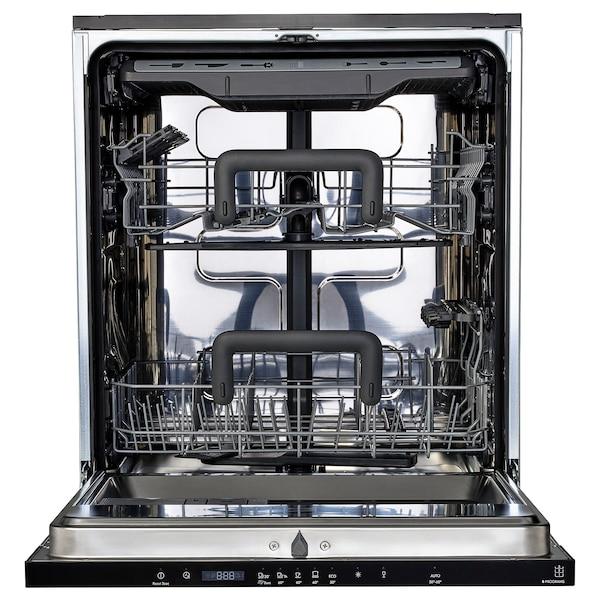 HYGIENISK Integroitava astianpesukone, IKEA 500, 60 cm