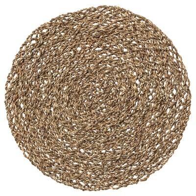 IHÅLLIG Tabletti, luonnonvärinen/meriheinä, 37 cm