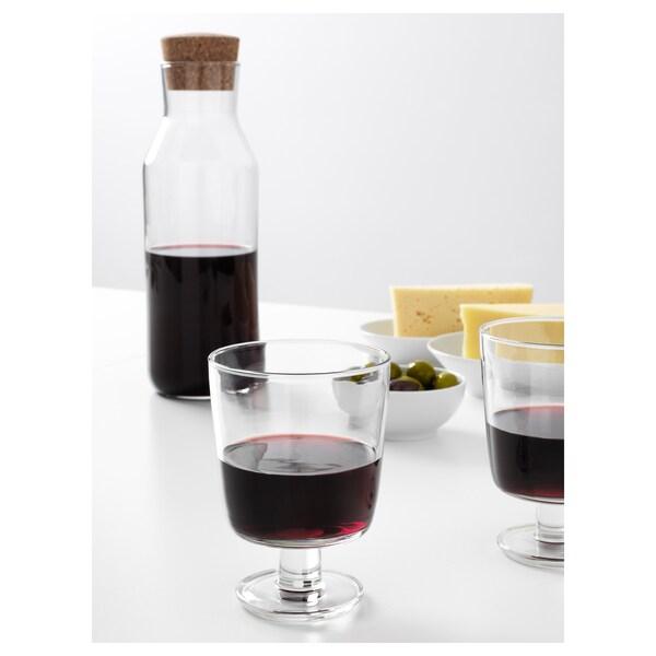 IKEA 365+ Lasi, jalallinen, kirkas lasi, 30 cl