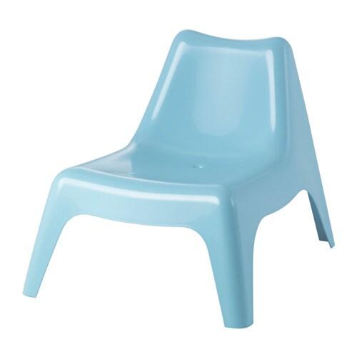IKEA PS VÅGÖ Lepotuoli ulkokäyttöön  sininen, IKEA