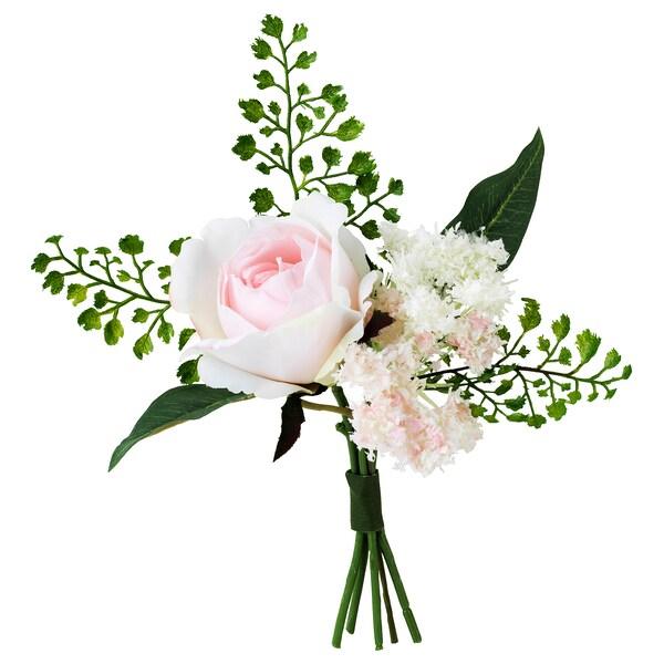 INBJUDEN Tekokukkakimppu, roosa, 21 cm