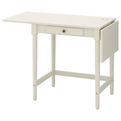 INGATORP Työpöytä, valkoinen, 73x50 cm