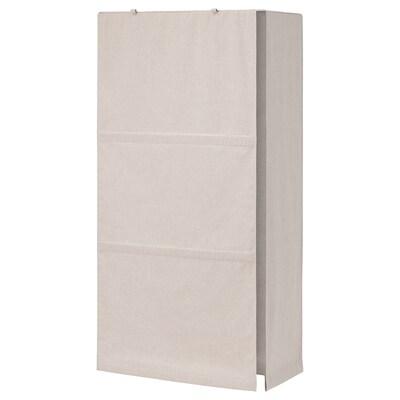 IVAR Tekstiilipäällinen, beige, 81x172 cm