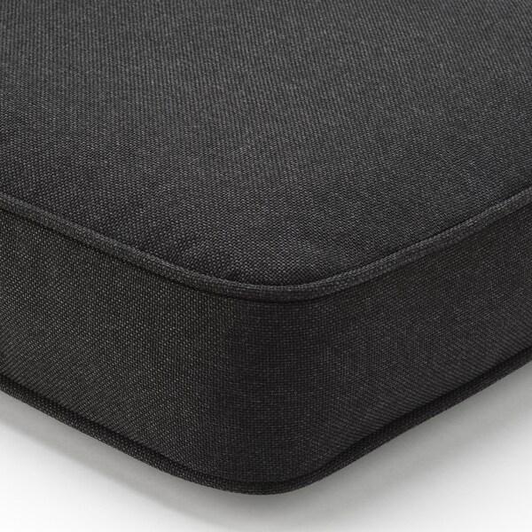 JÄRPÖN/DUVHOLMEN Selkänojatyyny, ulkokäyttöön, antrasiitti, 62x44 cm