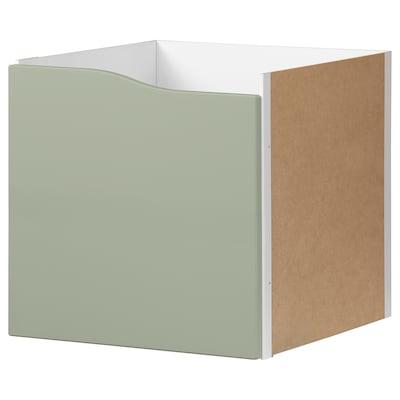 KALLAX Upotettava kaappi, haaleanvihreä, 33x33 cm