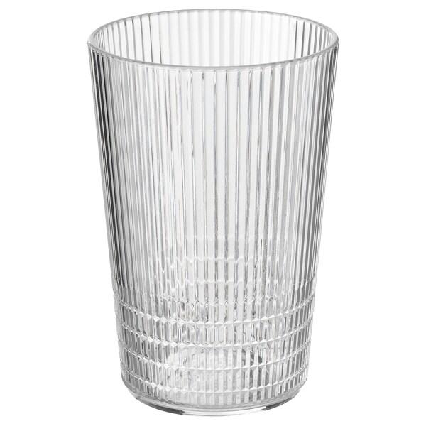 KALLSINNIG Lasi, läpikuultava muovi, 38 cl