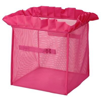 KARISMATISK Laatikko, kokoontaitettava roosa, 33x33x33 cm