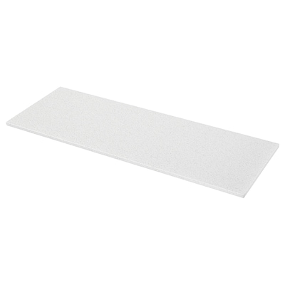 KASKER Mittatilaustyötaso, valkoinen mineraali-/kimallekuvio/kvartsi, 1 m²x3.0 cm
