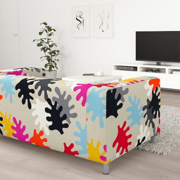 KLIPPAN 2:n istuttava sohva Mattsbo monivärinen 180 cm 88 cm 66 cm 11 cm 54 cm 43 cm