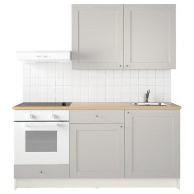 KNOXHULT keittiö harmaa 180.0 cm 61.0 cm 220.0 cm