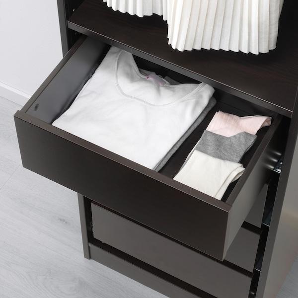 KOMPLEMENT Laatikko, mustanruskea, 50x35 cm