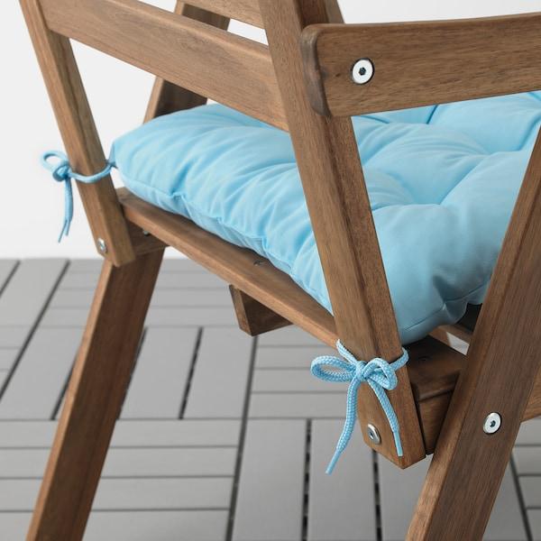 KUDDARNA istuintyyny, ulkokäyttöön vaaleansininen 44 cm 44 cm 7 cm