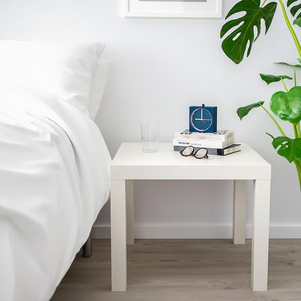 LACK Apupöytä, valkoinen, 55x55 cm