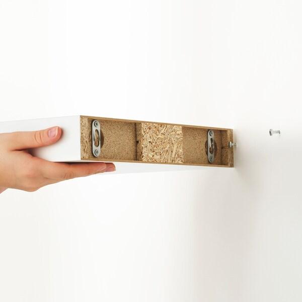 LACK Seinähylly, valkoinen, 30x26 cm