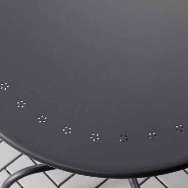 LÄCKÖ pöytä, ulkokäyttöön harmaa 71 cm 70 cm