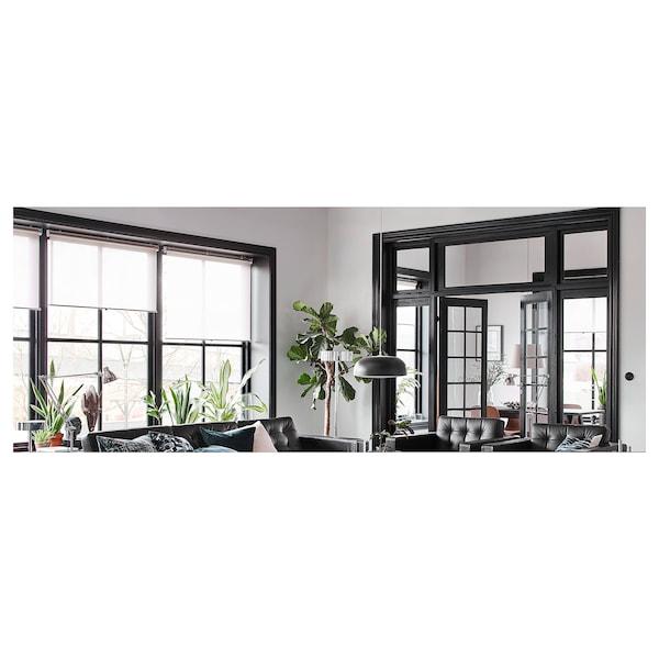 LANDSKRONA 3:n istuttava sohva, divaanin kanssa/Grann/Bomstad musta/metalli