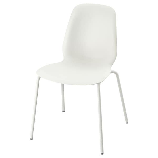 LEIFARNE Tuoli, valkoinen/Broringe valkoinen