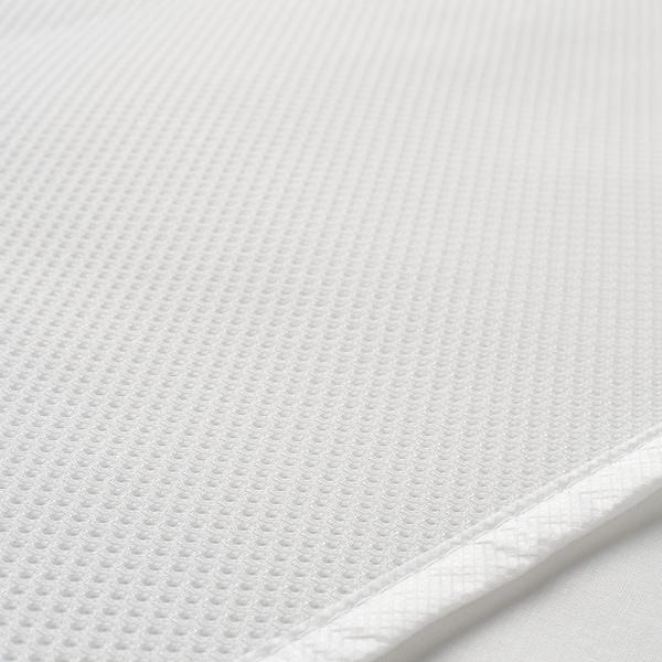 LENAST Patjansuojus, vedenpitävä, valkoinen, 70x160 cm