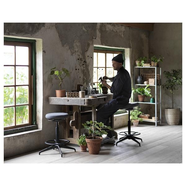 LIDKULLEN Aktiivinen istumis-/seisomistuki, Gunnared tummanharmaa