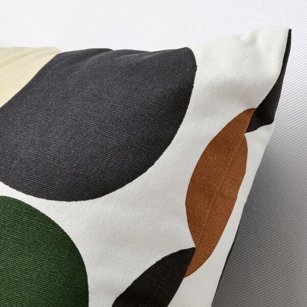 LIGUSTERFLY Koristetyyny, valkoinen monivärinen/pilkkukuvio, 30x58 cm