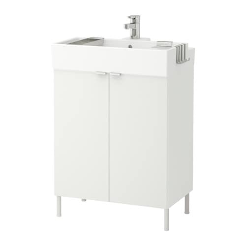 LILLÅNGEN Allaskaappi 2 ovea  valkoinen, 60x41x87 cm  IKEA