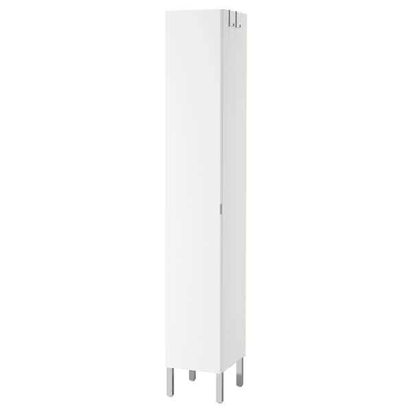 LILLÅNGEN korkea kaappi/1 ovi valkoinen 30 cm 38 cm 194 cm