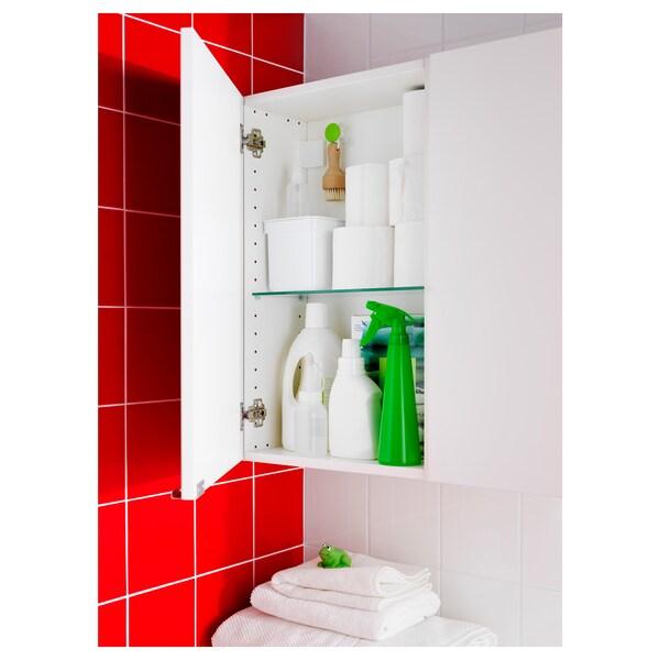 LILLÅNGEN seinäkaappi valkoinen 40 cm 21 cm 64 cm
