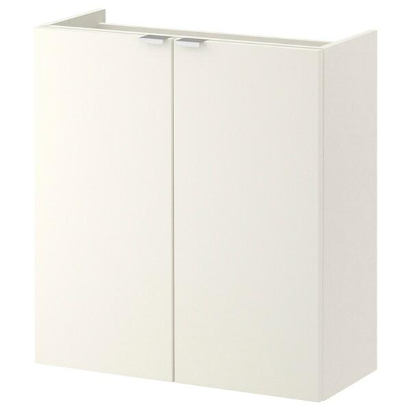 LILLÅNGEN allaskaappi 2 ovea valkoinen 60 cm 25 cm 64 cm