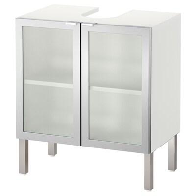 LILLÅNGEN allaskaluste, 2 ovea alumiini 60 cm 38 cm 66 cm