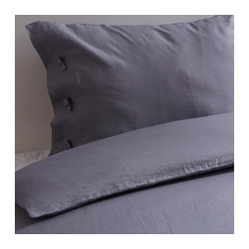 linblomma pussilakana 2 tyynyliinaa 240x220 50x60 cm ikea. Black Bedroom Furniture Sets. Home Design Ideas