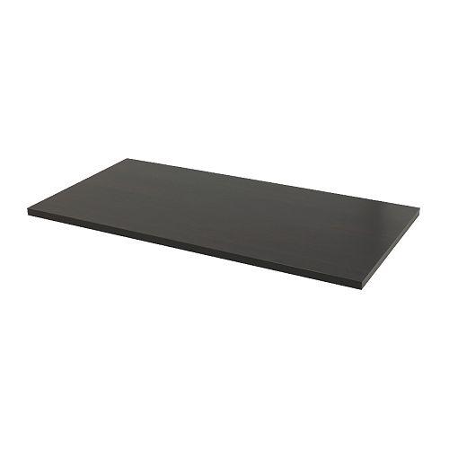 LINNMON Pöytälevy  mustanruskea  IKEA