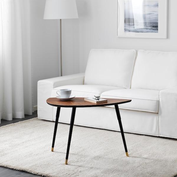 LÖVBACKEN Apupöytä, keskiruskea, 77x39 cm