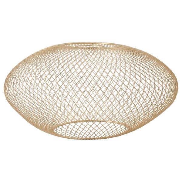 LUFTMASSA Lampunvarjostin, messinginvärinen ovaalikuvioitu, 37 cm