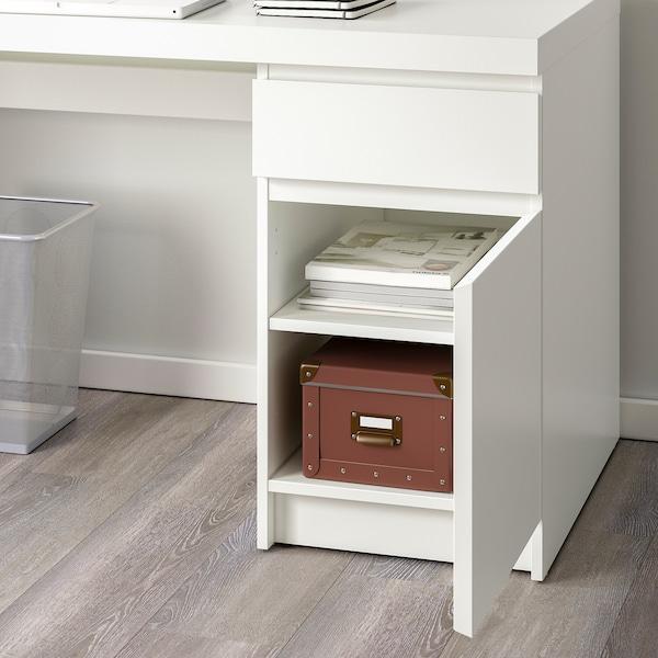 MALM Työpöytä, valkoinen, 140x65 cm