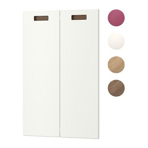 m rsta kmptk ovi 2 kpl vasen valkoinen ikea. Black Bedroom Furniture Sets. Home Design Ideas