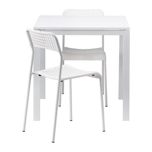 MELLTORP  ADDE Pöytä + 2 tuolia  IKEA