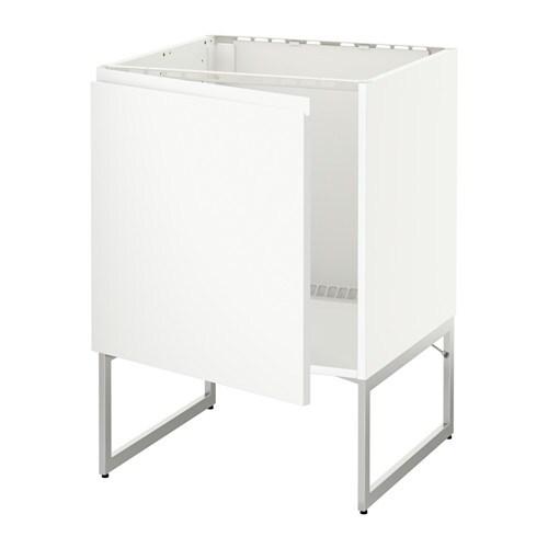 METOD Allaskaappi  Voxtorp valkoinen  IKEA
