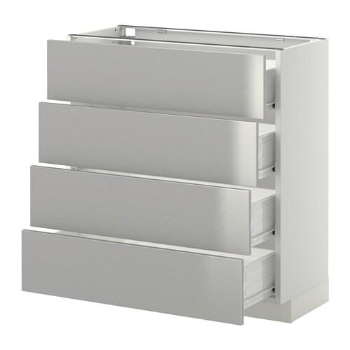 METOD  FÖRVARA Pöytäkaappi 4 etusrj 4 laatikkoa