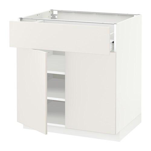 metod f rvara p yt kaappi laatikko 2 ovea valkoinen veddinge valkoinen ikea. Black Bedroom Furniture Sets. Home Design Ideas