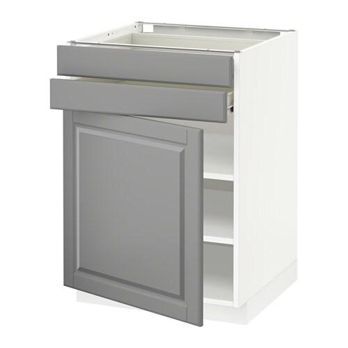 METOD  FÖRVARA Pöytäkaappi + ovi 2 laatikkoa  valkoinen